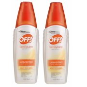 OFF! FamilyCare Insect Repellent IV, Unscented, 9 Ounces (2 pack)
