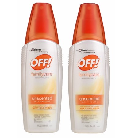 OFF! FamilyCare Insect Repellent IV, Unscented, 9 Ounces (2