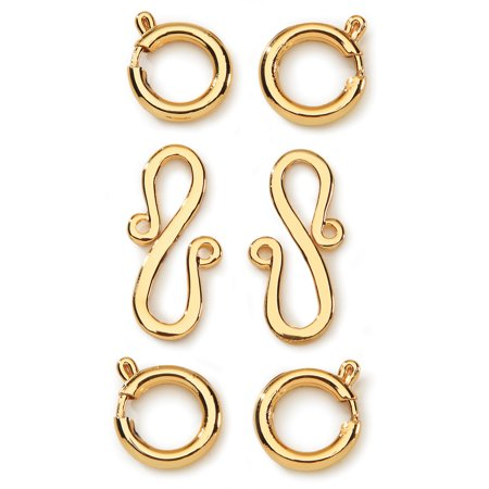 Styled By Tori Spelling  Tm  Connectors Gold 6 Pkg