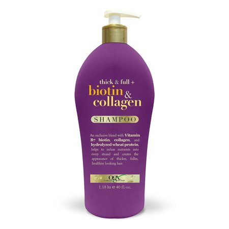 OGX Thick & Full + Biotin & Collagen Shampoo (40 fl.