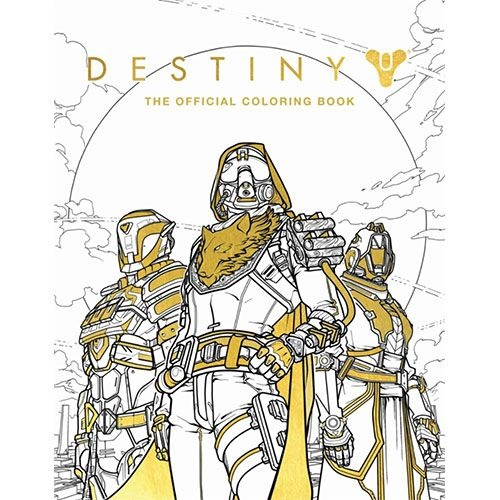 Destiny, The Official Coloring Book from Destiny the Video Game by Bungie (Refurbished)