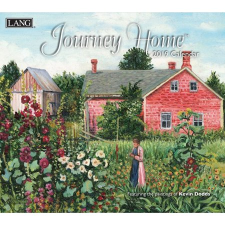 2019 WALL CALENDAR, JOURNEY HOME