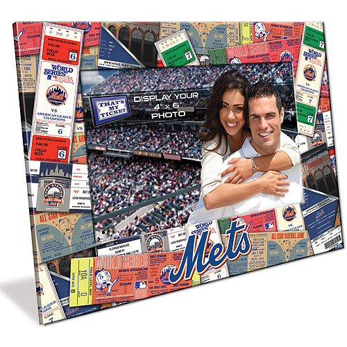 4X6 Picture Frame - New York Mets New York Mets TFPFBBNYM