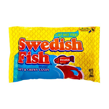 Swedish Fish Fat Free Soft & Chewy Candy, 14.0 OZ