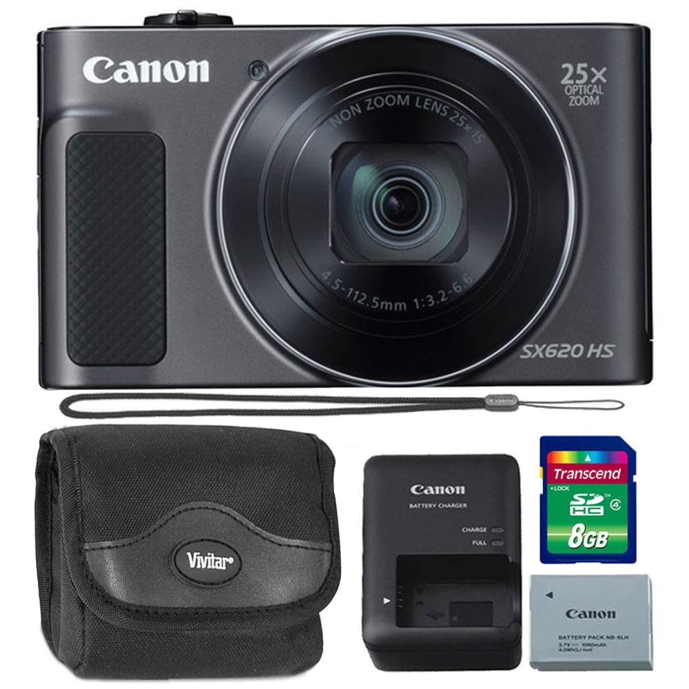 Canon PowerShot SX620 HS 20.2MP 25X Zoom Wifi / NFC  Full...
