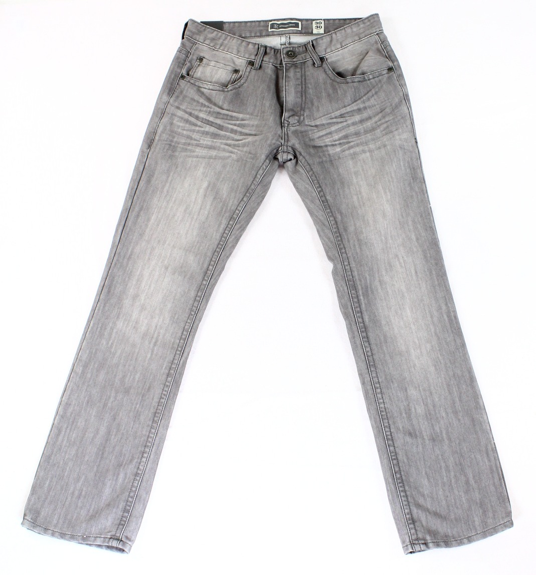INC NEW Gray Mens Size 32X32 Berlin Slim Straight Leg Five-Pocket Jeans $49