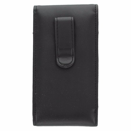 T-Mobile Leather Case Designed to Fit Most Smarthphones Black - image 1 de 3