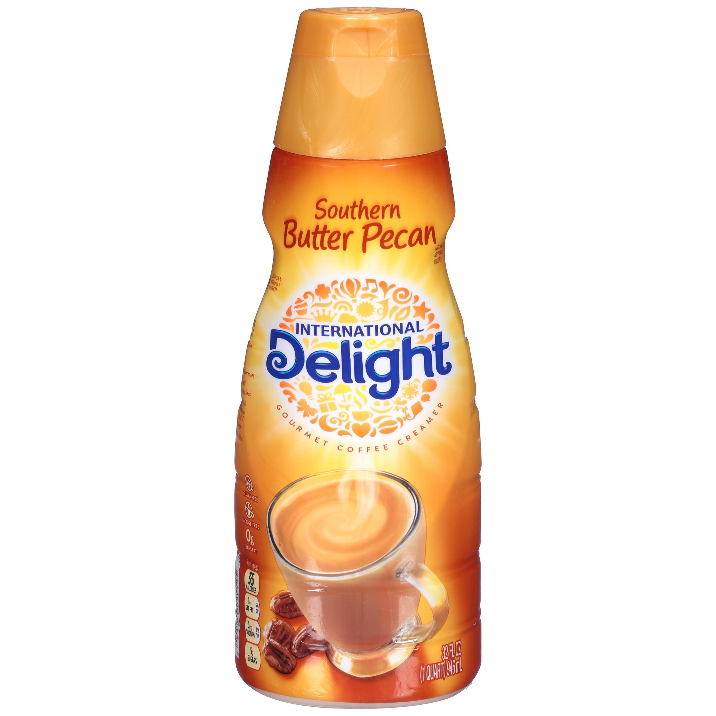 International Delight��� Southern Butter Pecan Gourmet Coffee Creamer 32 fl. oz.  Bottle