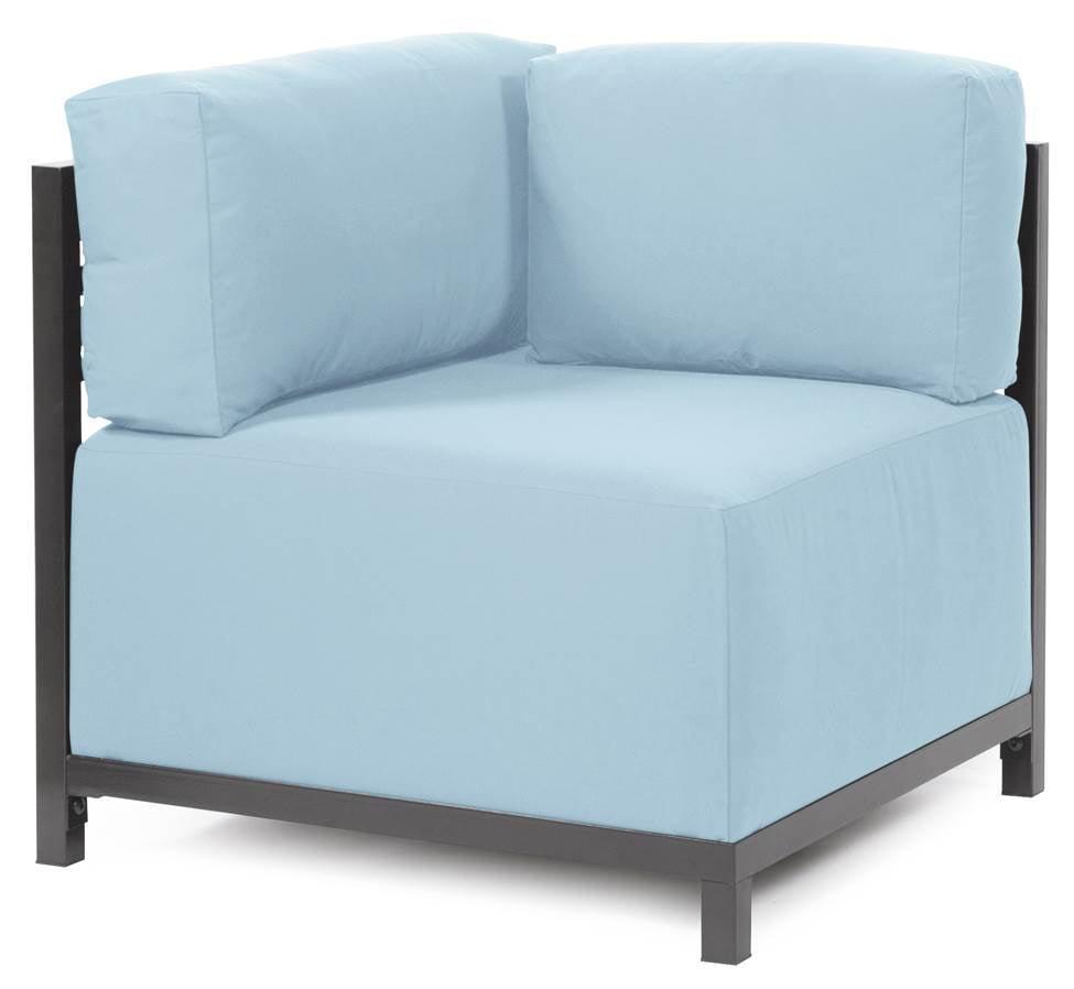 Corner Chair in Breeze by Howard Elliott Collection