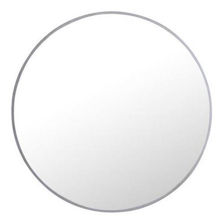 Elegant Lighting MR4033S 24 in  Eternity Metal Frame Round Mirror&