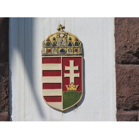 LAMINATED POSTER Coat Of Arms Hungarian Royal Coat Of Arms Hungary Poster Print 24 x (Royal Coat Of Arms Of The United Kingdom)