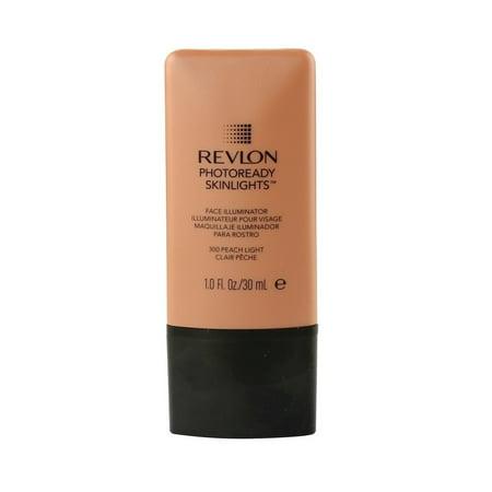 (Revlon Photo Ready Skinlights Face Illuminator - Peach Light + Old Spice Deadlock Spiking Glue, Travel Size, .84 Oz)