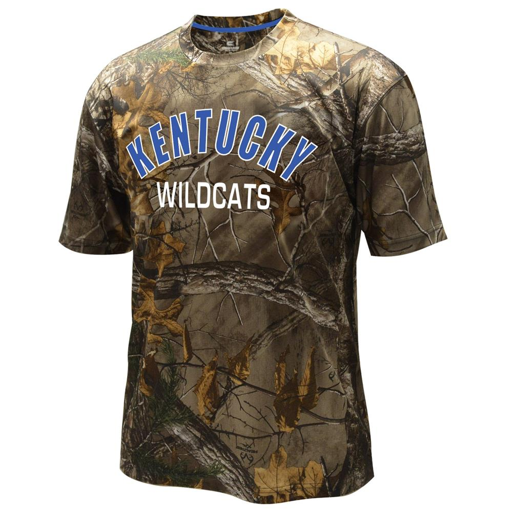 Men's Performance Kentucky Wildcats UK Realtree Camo Tee