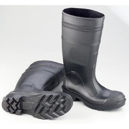 Economy Pvc Plain Toe Boot (16 PVC Economy Lugged Outsole Steel Toe)