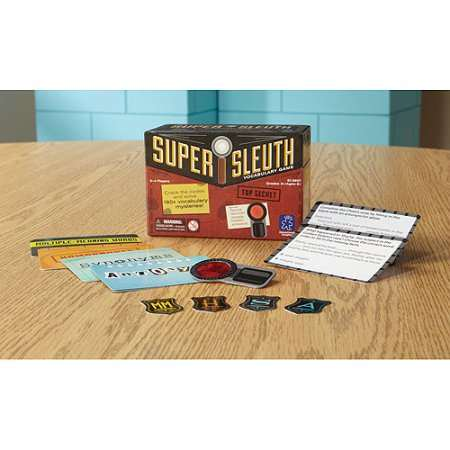 Educational Insights Super Sleuth Vocabulary Game (Educational Halloween Games For Kindergarten)