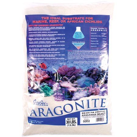 Caribsea Inc-Dry Aragonite Fiji Pink Reef Sand- Pink 15 (Aragonite Sand)