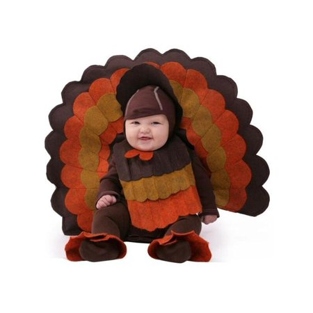 Turkey Costume Diy (Baby Turkey Costume)