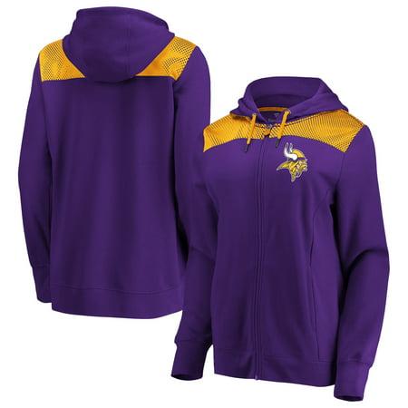 Minnesota Vikings Fanatics Branded Women's Team Best Full-Zip Hoodie -