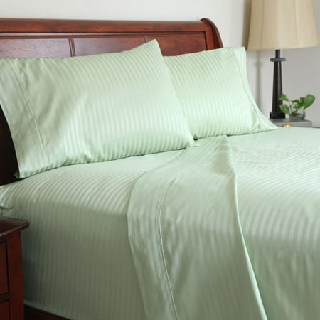 somerset home 300 thread count cotton sateen bedding sheet set. Black Bedroom Furniture Sets. Home Design Ideas