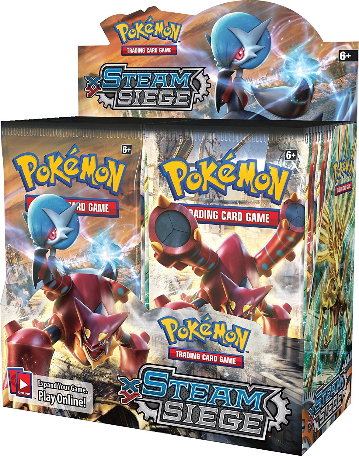 Pokemon XY Steam Siege Booster Box [36 Packs] by POKEMONUSA