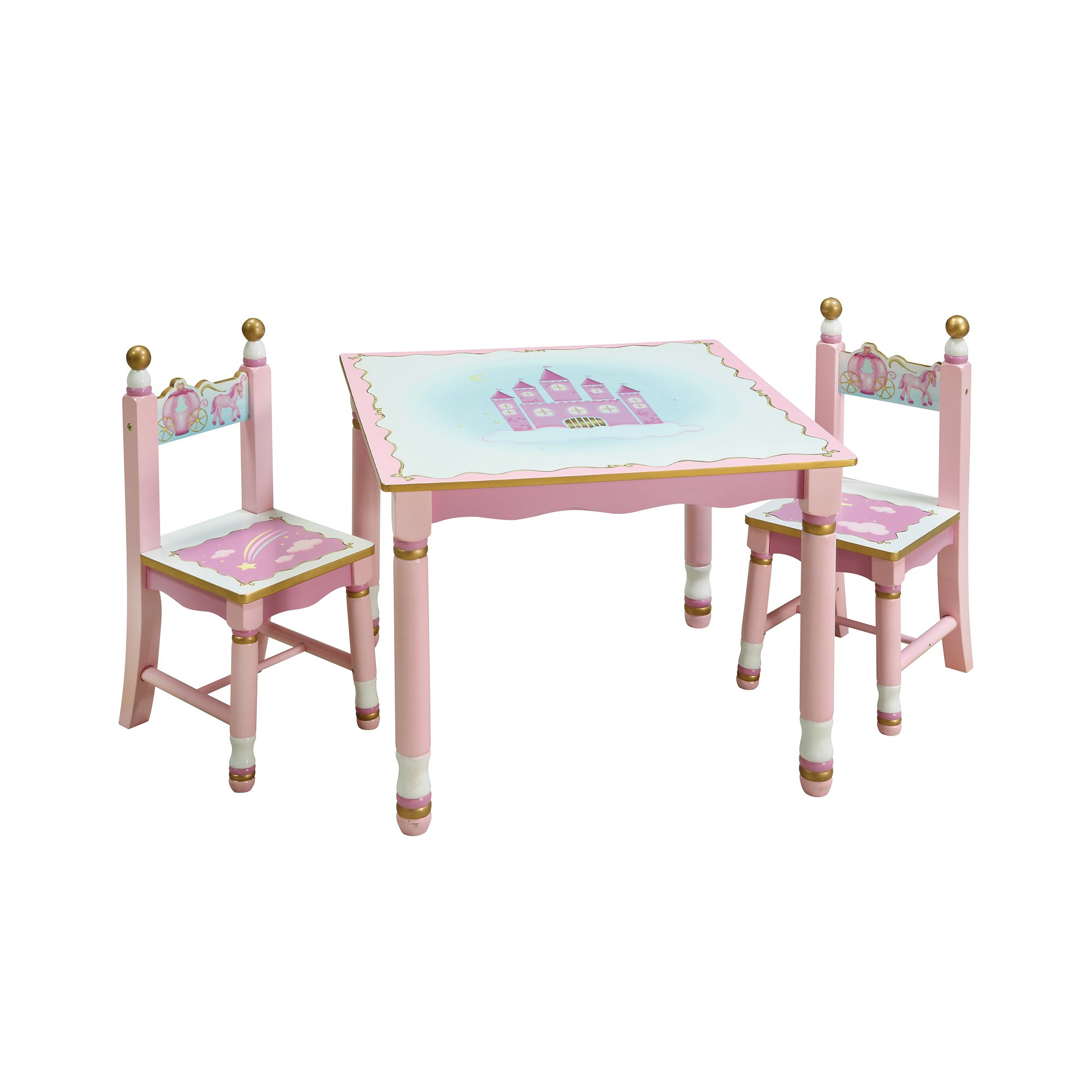 Princess Table and Chairs Set  sc 1 st  Walmart : child sized table and chair set - pezcame.com