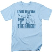 Saturday Night Live SNL Livin In A Van Mens Short Sleeve Shirt