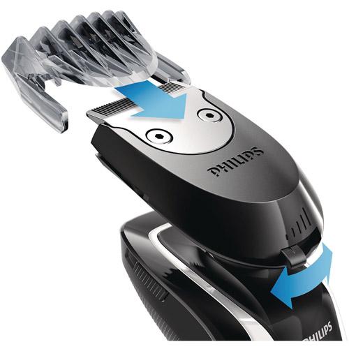 Maquina Para Cortar Cabello Philips Norelco clic en perfilador barba, RQ111/52 + Philips en Veo y Compro