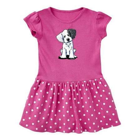 English Setter Puppy Toddler Dress - KiniArt