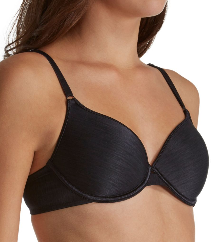 Women's Vassarette 75247 Lightly Padded Demi Bra