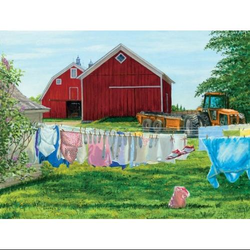 Sunsout Puzzle Company April Fresh Multi-Colored