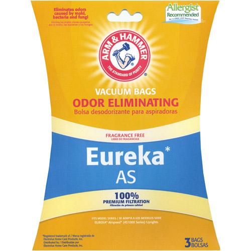 Arm & Hammer Odor Eliminating Vacuum Bags, Eureka AirSpeed Style, 9-Pack