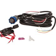 Lowrance 000-0099-98 PC-26BL Power Cable with Speaker Output