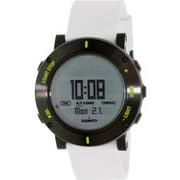 Men's Core SS020690000 White Rubber Quartz Watch