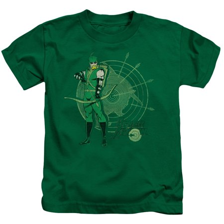 Dc - Arrow Target - Juvenile Short Sleeve Shirt - 5/6 ()