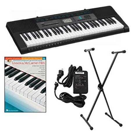 Casio CTK2550 Keyboard Package w/Adapter, Stand & Lennon & McCartney Hits Book