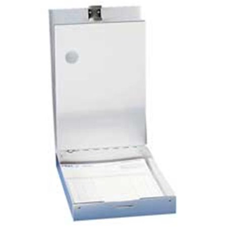 Saunders Storage Holder - Saunders Manufacturing SAU21017 Form Holder- w- 2 Storage Trays- 8-.50in.x12in.- Aluminum