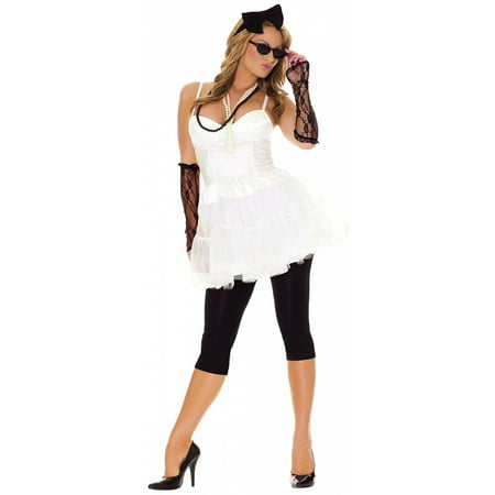 Rock Star Adult Costume - Small (Famous Rock Star Halloween Costumes)