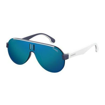 c5e630f1342 Carrera - Carrera 1008/S Sunglasses 0RCT 99 Matte Blue (Z0 - Walmart.com