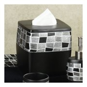 Sweet Home Collection Mosaic Stone Tissue Box Cover