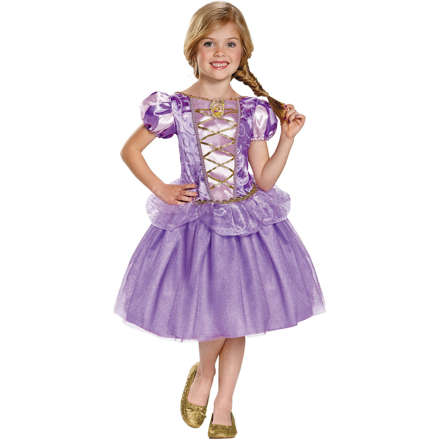 Rapunzel Classic Girls Child Halloween Costume