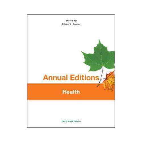 Annual Editions: Health, 35/E