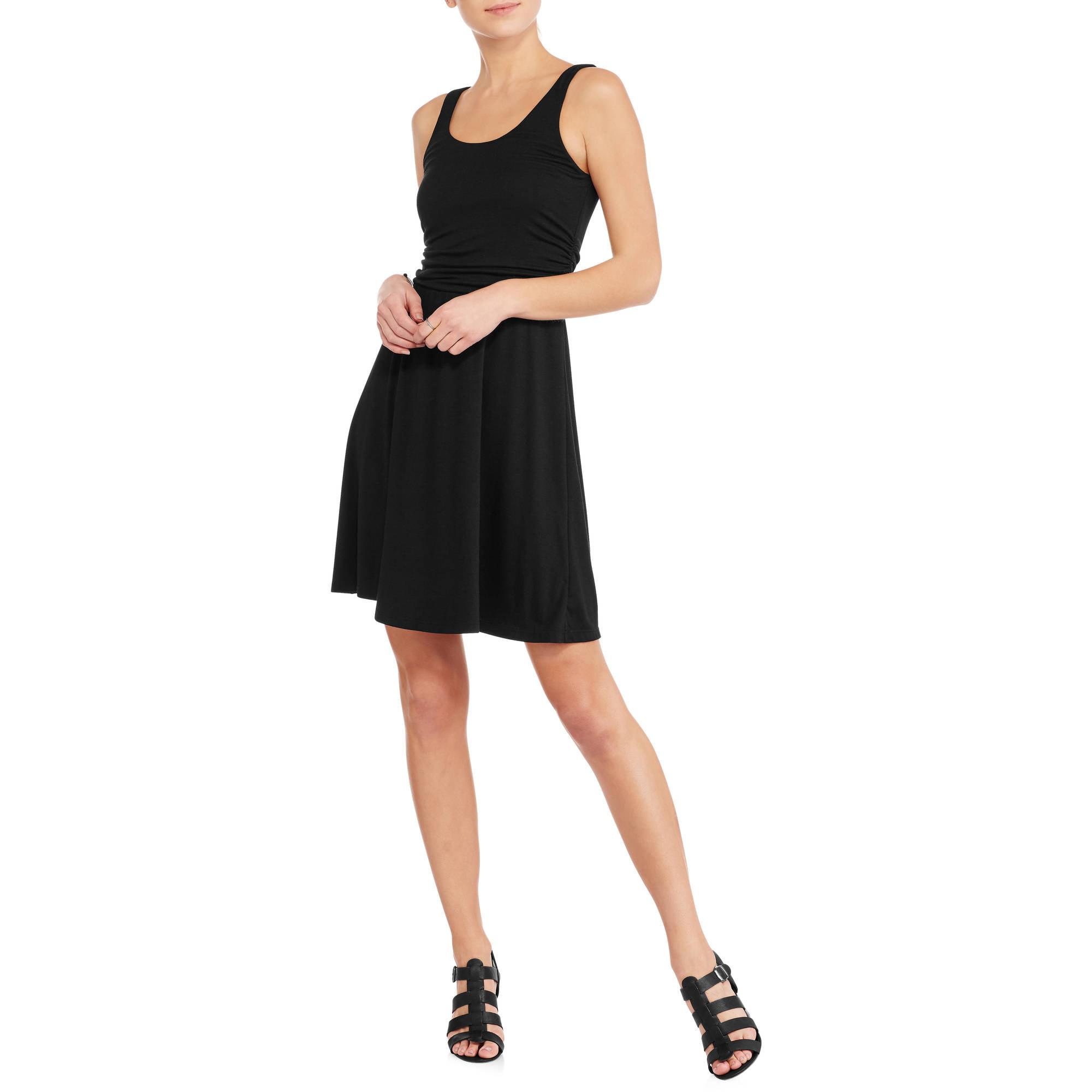 Faded Glory Women's Easy Knit Shirred Flip Flop Dress by FADED GLORY