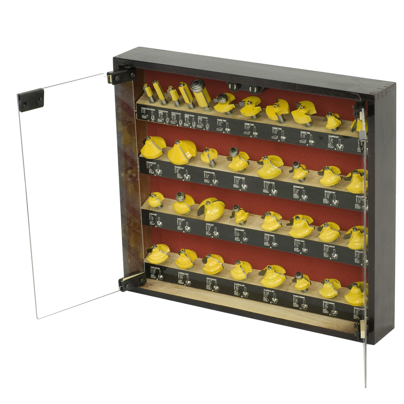 Professional Woodworker 35 Piece Router Bit Set by NATI LLC
