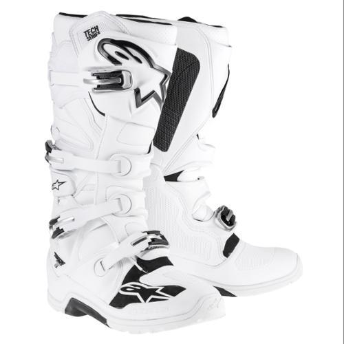 Alpinestars Tech 7 Enduro Mens MX/Offroad Boots White/Black 8