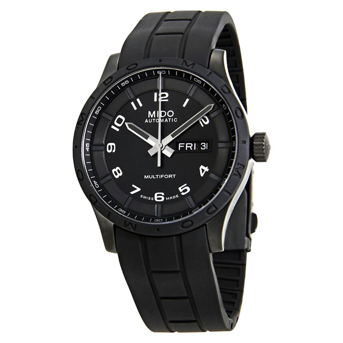 Mido Multifort Automatic Black Dial Mens Watch M018.430.37.052.80 by Mido