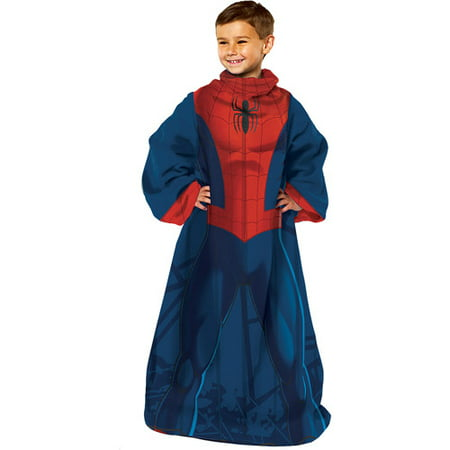 Spider Man Spider Up Comfy Throw