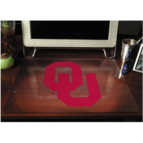 E.S. Robbins 513001 Collegiate Desk Pad, University of Oklahoma Sooners, Red, Plastic, 19 x 24