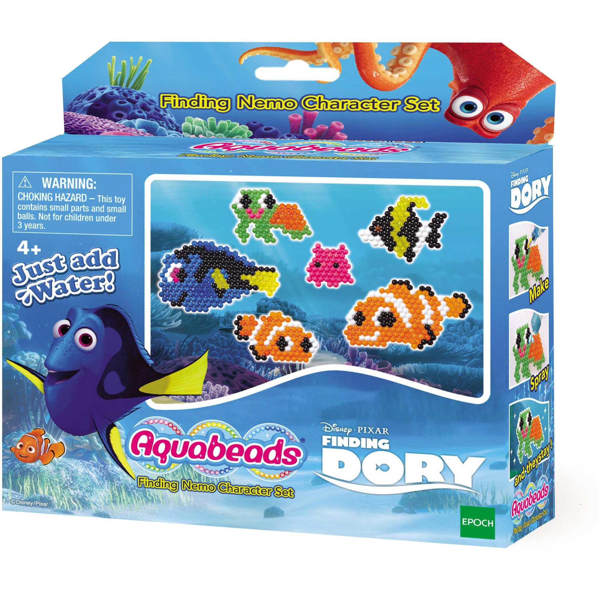 international playthings aquabeads disney-pixar finding dory nemo