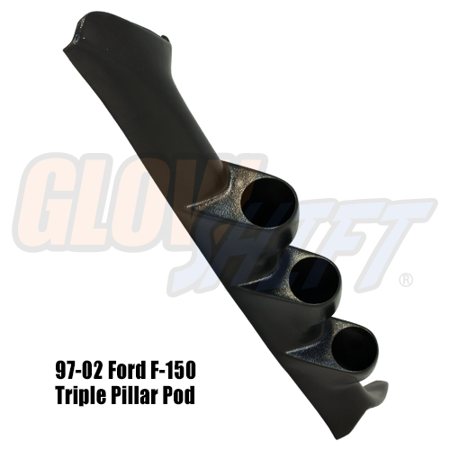 1997-2002 Ford F-150 Triple Gauge Pillar Pod