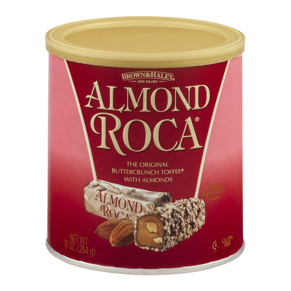 Brown & Haley Roca Buttercrunch Toffee With Chocolate And Almonds, 10 oz by Brown & Haley